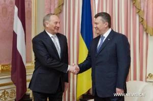 Berzins Yanukovych